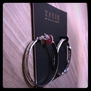 Zaxie Hoop Earrings